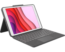 Logitech Combo Touch Apple iPad (2019) Toetsenbord Hoes AZERTY