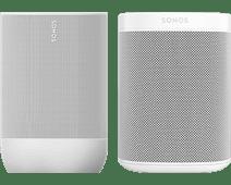 Sonos Move Wit + Sonos One SL Wit