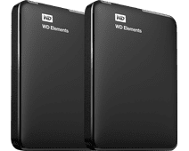 WD Elements Portable 4TB Duo-Pack