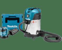 Makita DBO180ZJ (zonder accu) + Makita VC3011L