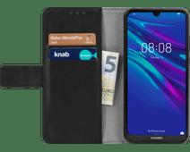 Just in Case Wallet Huawei Y6 (2019) Book Case Zwart