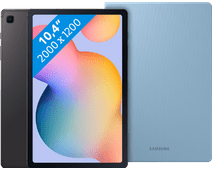 Samsung Galaxy Tab S6 Lite 64GB WiFi Gray + Samsung Book Case Blue