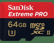 Sandisk microSDXC Extreme PRO 64Go 275MB/S UHS-II