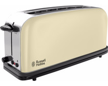 Russell Hobbs Colours Plus+ Classic Cream Long Slot Broodrooster
