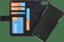 Decoded Wallet Apple iPhone SE 2 / 8 / 7 / 6 / 6s 2-in-1 Case Leer Zwart