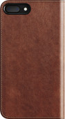 Nomad Leather Folio Apple iPhone 7 Plus/8 Plus Book Case Bruin