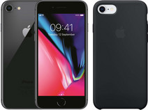 Apple iPhone 8 64GB Space Gray + Back Cover