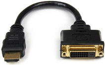 Startech HDMI naar DVI-D Video Adapter Kabel 20 cm