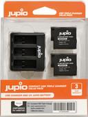 Jupio Kit : GoPro HERO8/7/6/5 & HERO (2018) Batterie (2x)