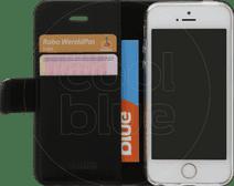 Valenta Booklet Classic Luxe Apple iPhone 5/5S/SE Zwart