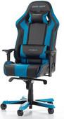 DXRacer KING Gaming Chair Zwart/Blauw