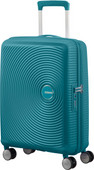 American Tourister Soundbox Expandable Spinner 55cm Jade Green