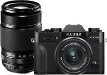 FujiFilm X-T30 Noir + XC 15-45 mm f/3.5-5.6 + 55-200 mm f/3.5