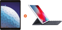 Apple iPad Air (2019) 10.5 inches Space Gray 256GB WiFi + 4G + Smart Keyboard AZERTY