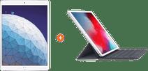 "Apple iPad Air (2019) 10,5"" Argent 256 Go Wi-Fi + Smart Keyboard AZERTY"