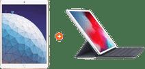 "Apple iPad Air (2019) 10,5"" Or 256 Go Wi-Fi + Smart Keyboard Azerty"