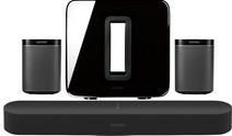 Sonos Beam 5.1 + Play: 1 (x2) + Sub Black