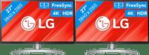LG 27UL850 Configuration double écran