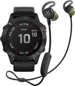 Garmin Fenix 6X PRO - Black - 51mm + Jaybird Tarah Pro Wireless Sport Earbuds