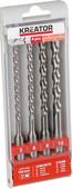 Kreator SDS-Plus Drill Bit Set 4-piece 5-6-8-10x160mm