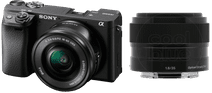 Sony Alpha A6400 + E PZ 16-50 mm f/3.5-5.6 OSS + 35 mm f/1.8