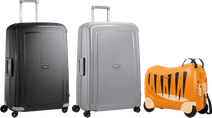 Samsonite S'Cure 75cm + 75cm + kinderkoffer kofferset