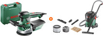 Bosch PEX 400 AE + Bosch AdvancedVac 20