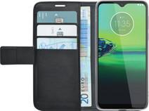 Azuri Motorola Moto G8 Plus Book Case Zwart
