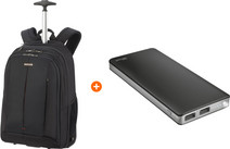 Samsonite GuardIt 2.0 15'' Black + Trust Primo Thin Batterie externe