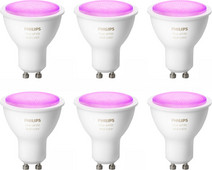 Philips Hue White and Color GU10 Bluetooth Lot de 6