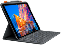 Logitech Slim Folio Apple iPad Air (2019) Toetsenbord Hoes AZERTY