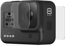 Tempered Glass Lens + Screen Protector - HERO 8 Black