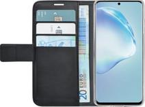 Azuri Wallet Samsung Galaxy S20 Book Case Zwart