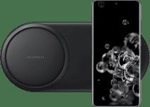 Samsung Galaxy S20 Ultra 512GB Grijs 5G + Samsung Draadloze Oplader DUO Pad Zwart