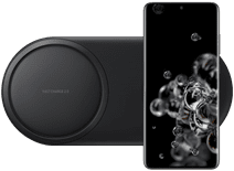 Samsung Galaxy S20 Ultra 128GB Zwart 5G + Samsung Draadloze Oplader DUO Pad Zwart