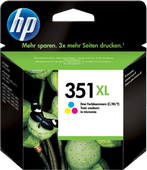 HP 351XL Cartouches Pack Combiné