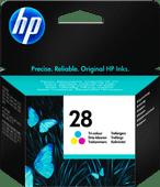 HP 28 Tri-color Ink Cartridge 3 Colors (C8728AE)
