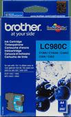 Brother LC-980C Cyan Ink Cartridge (Blue)