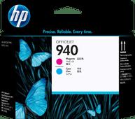 HP 940 Tête d'Impression Magenta et Cyan
