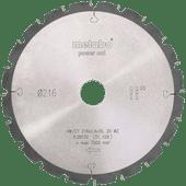 Metabo Lame de scie Power Cut 216 mm 20T