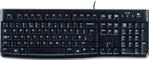 Logitech K120 Bedraad Toetsenbord Azerty