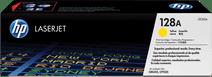 HP 128A Toner Geel