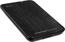 Sharkoon QuickStore Portable USB 3.0 2,5 pouces Noir