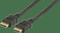 Veripart câble HDMI Plaqué Or 1,5 mètres
