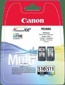 Canon PG-510/CL-511 Cartridges Combo Pack