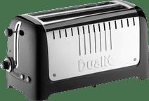 Dualit Lite Gloss 2 Slot Long Zwart