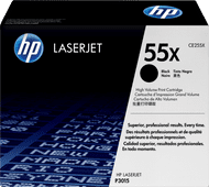 HP 55X Toner Cartridge Black (High Capacity)