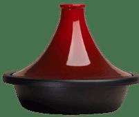 Le Creuset Tajine 27 cm kersenrood