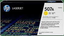 HP 507A Laserjet Toner Jaune (CE402A)