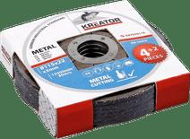 Kreator Disque émeri en métal 115 mm 6 pièces